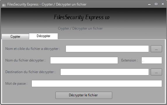 FilesSecurity Express 1.1 Cdd001v1