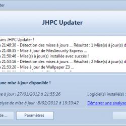 JHPC Updater 1.0 - Main